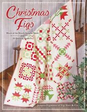 Christmas Figs Block of the Month Quilt Pattern Book It's Sew Emma