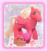 ❤️My Little Pony MLP G1 Vtg So Soft Hippity Hop DEFLOCKED Bunny Rabbit Pegasus❤️