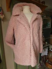 Gorgeous Papaya Weekend unusual pink fluffy Coat, NEW, BNWT. size 14. soo cute!