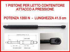 PISTONE A GAS MOLLA DI RICAMBIO PER LETTO CONTENITORE-1350 N-ATTACCO A PRESSIONE