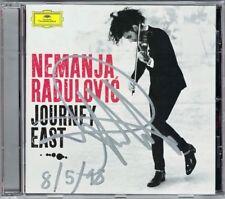 Nemanja Radulovic signée Journey East BRAHMS Hungarian Dance SCHINDLER'S LIST