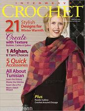 Interweave Crochet magazine Winter 2009: tunisian ruana