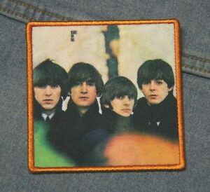 The Beatles For Sale cover  iron on patch  Official merchandise Lennon Ringo
