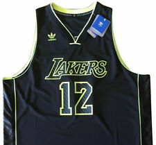 XXL black LOS ANGELES LAKERS HOWARD#12 NBA Basketball adidas Swingman Jersey NWT