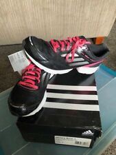 ADIDAS Junior AdiZero Rush Sneakers Size 7 Black/Pink/Silver