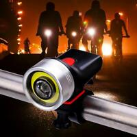 USB Rechargeable 1000 Lumen LED Bike Light Headlight Taillight Waterproof Lamps