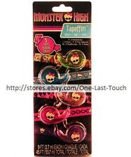 MONSTER HIGH 5pc Mini Tape Set TAPEFFITI Skulls+Pattern DECORATIVE Series 1 1/2