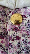 $89 Juicy Couture JG001206 Ash Lavender Pansy Print Skinny Floral Jean Size 25