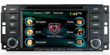 09-12 RAM 1500 DVD GPS Navigation Stereo Bluetooth Radio USB SD MP3 AV Receiver