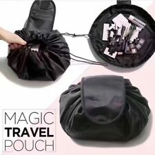 Magic Travel Pouch Drawstring Portable Travel Cosmetic Bag Makeup Toiletry UK