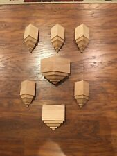 Crown Molding Corners Solid Oak Special Listing Of 7 Blocks For 3 5/8�