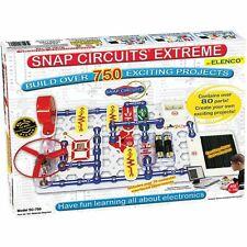 Elenco Electronics Snap Circuits Extreme 750 Experiments Kit (SC750)