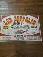 Led Zeppelin Concert Poster Uk