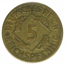 Deutsches Reich, 5 Reichspfennig 1926 F, A18657
