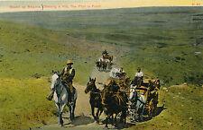 "c1912 ""Old Time Cow Foreman Brazos Bob"" Chas. Morris Postcard, Chimook, MT"