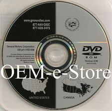 Cadillac Navigation DVD U.S Canada Map for Only 2006 2007 2008 Cadillac DTS