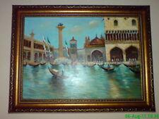 """Öl auf Leinwand Ölgemälde """"Venedig"""" Maler: Ponomarenko."""