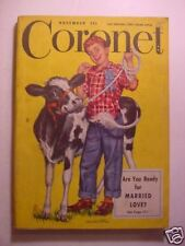 CORONET November 1948 MAURICE CHEVALIER YOUSUF KARSH LEW AYRES MAN 'O WAR +++