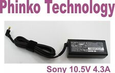 Original Charger For Sony Vaio DUO 10 11 13 series VGP-AC10V10 10.5V 4.3A 45W