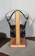 HeSy Wooden Headphone Stand handmade from birch plywood with solid cherry wood