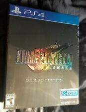Final Fantasy VII 7 Remake Deluxe Edition PS4 New Sealed Square Enix RPG