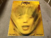 The Rolling Stones Vintage Sheet Music 1973 Angie ready to frame complete