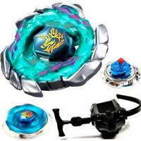 Beyblade 4D/5D Fusion Spinning Top Metal Master Rapidity Fight Toy+ Launcher Set