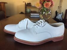 New listing Churchill men's white bone oxford size 8 very good used condition Vintage