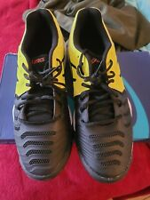 Asics Boys Gel Resolution 7 Tennis Shoes, Size 7/ women's 8.5, yellow and black