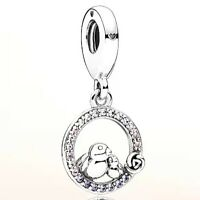 New Authentic Pandora Mother and Baby Bird Sterling Silver Charm  797060