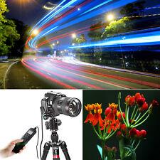 LCD Timer Remote Shutter Release Cord for Nikon D90 D3300 D5500 D610 D750 D7200