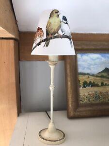 Handmade Candle Lampshade - Laura Ashley Garden Birds