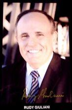 Mayor New York Rudy Giuliani 5 x 7 Autographed Photo