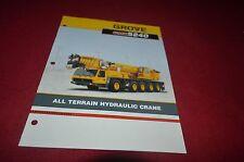 Grove GMK5240 All Terrain Hydraulic Crane Dealer's Brochure DCPA6