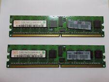 HYNIX RAM,2 X2 X 512 Mb 1RX8 PC 3200rpc2-3200r-333-12,HP pnr. 345112-851,# SU _