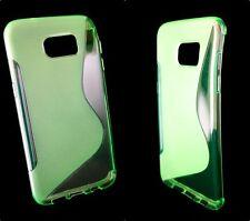 Handy Hülle Case Silikon für Samsung Galaxy S2 S3 S4 S5 S6 S7 A3 A5 Cover Schutz