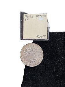 Mexico 1847 G A JG 8 R Silver Coin