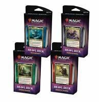 Magic MTG Throne of Eldraine - Set of 4 Sealed Brawl Decks - NEW FLASH SALE