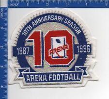 96bea9bf1 Arena Football 10th Anniversary Season patch 1996 NOS