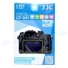 JJC 2 PCS PET LCD Guard Film Screen Protector For Panasonic Lumix GH4 GH3 GX8