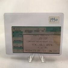 Zz Top McNichols Arena Denver Colorado Concert Ticket Stub Vtg Nov 11 1990