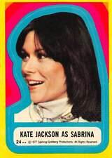 1977 Topps Charlies Angels Sticker #24 Kate Jackson As Sabrina Duncan 💎
