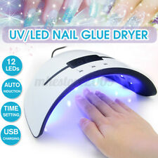 36W Nail Polish Dryer Pro UV 12LEDs Lamp Acrylic Gel Curing Light Manicure