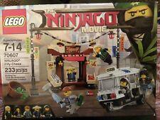 NIB LEGO Ninjago Movie Ninjago City Chase 70607 233 Pcs