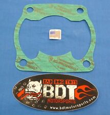 "HONDA TRX 250R TRX250R BDTM BIG BORE .015"" CYLINDER BASE GASKET 330-370 NEW"