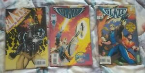 3 issues of Blaze, Ghost Rider, Johnny, # 1 (1993), 1 (1994), + 5, Warpath, NM,
