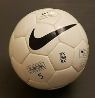 RARE NIKE 250 SX OFFICIAL MATCH BALL FOOTBALL SOCCER VAPOR FIFA APPROVED NEW OMB