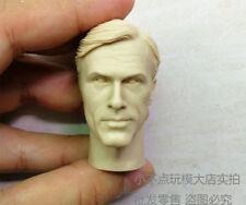 1/6 scale Head Sculpt Inglourious Basterds Hans Landa unpainted normal face AU