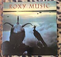 ROXY MUSIC - Avalon - 1982 Vinyl LP +lyrics EG Records EGHP116 A1/B4  Vg/Ex