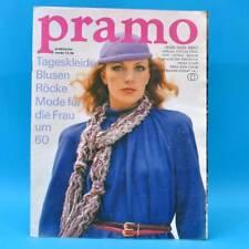 DDR Pramo 12/1980 Praktische Mode Schnittmuster G Puppen Puppenmütter Gestrickt